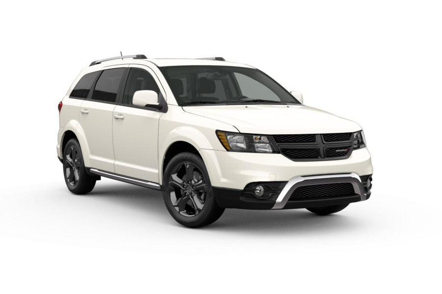 2019 Dodge Journey in Vice White color