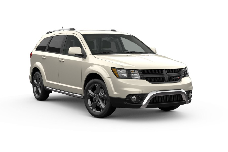 2019 Dodge Journey in White Noise Tri-Coat color