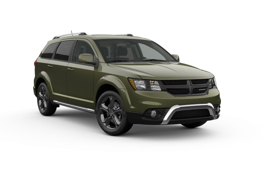 2019 Dodge Journey in Verde Oliva color
