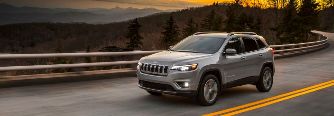 Spacious interior of new 2020 Jeep Cherokee provides plenty of passenger and cargo space