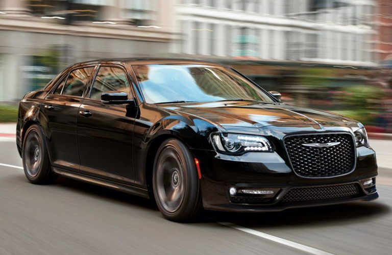 Chrysler 300 driving on a road