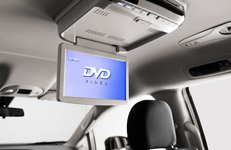2020 Chrysler Voyager overhead integrated DVD player