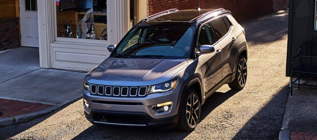 2021 Jeep Compass front profile