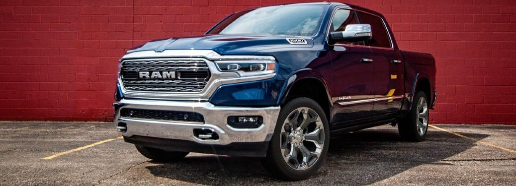2021 Ram 1500 front and side profile