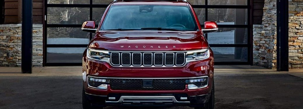 2022 Jeep Wagoneer front profile