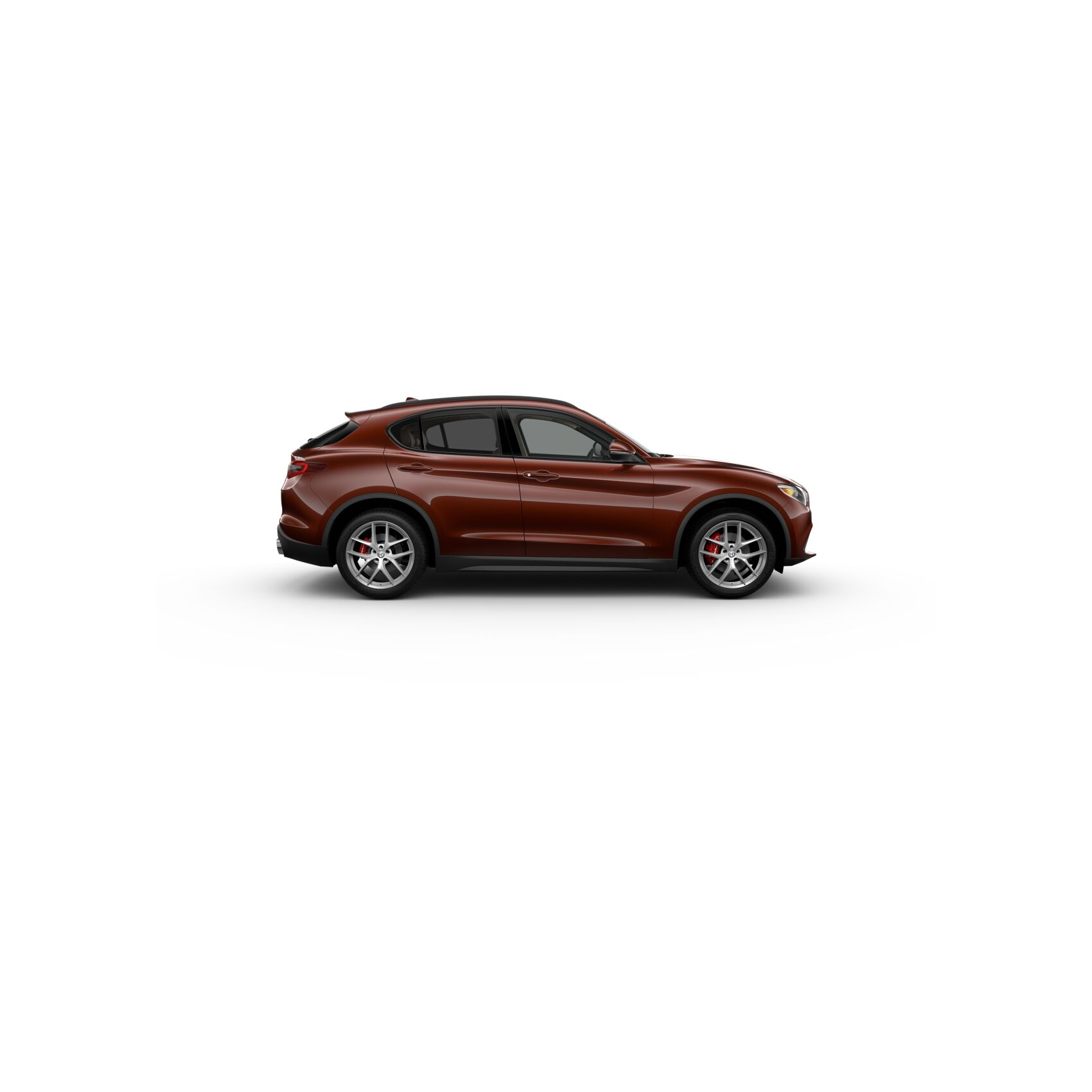 2019 Alfa Romeo Stelvio in Basalto Brown