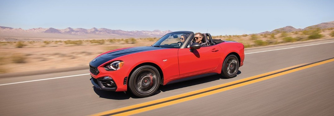 Engines and Transmissions Available in the 2019 FIAT 124 Spider