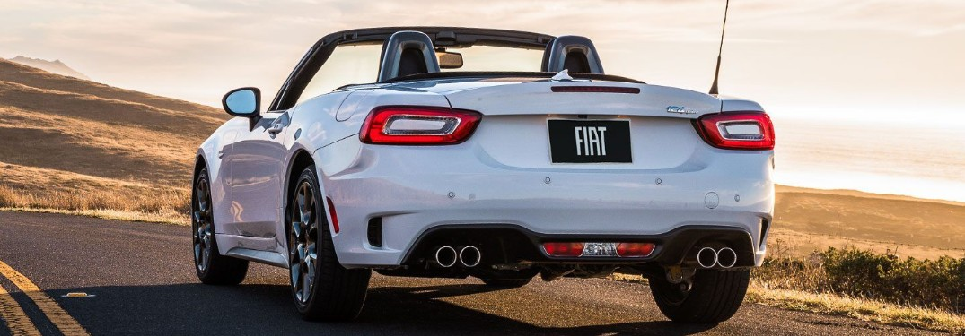 Entertainment and Technology Features in the 2019 FIAT 124 Spider