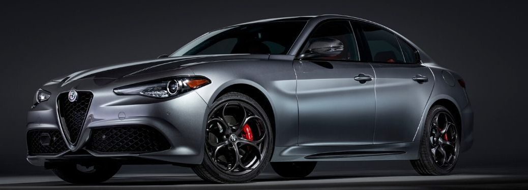 2020 Alfa Romeo Giulia from exterior front driver side