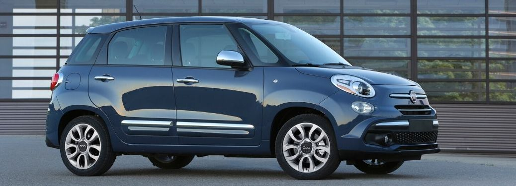 2020 Fiat 500L from passenger side