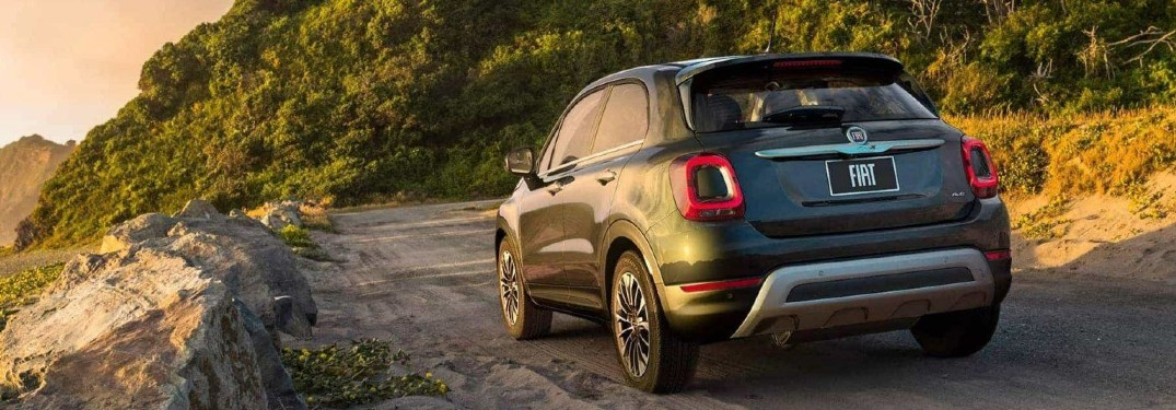 Impressive list of technology and comfort features fill interior of 2020 FIAT 500X