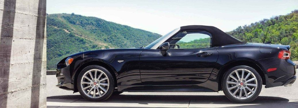 2020 FIAT 124 Spider side profile
