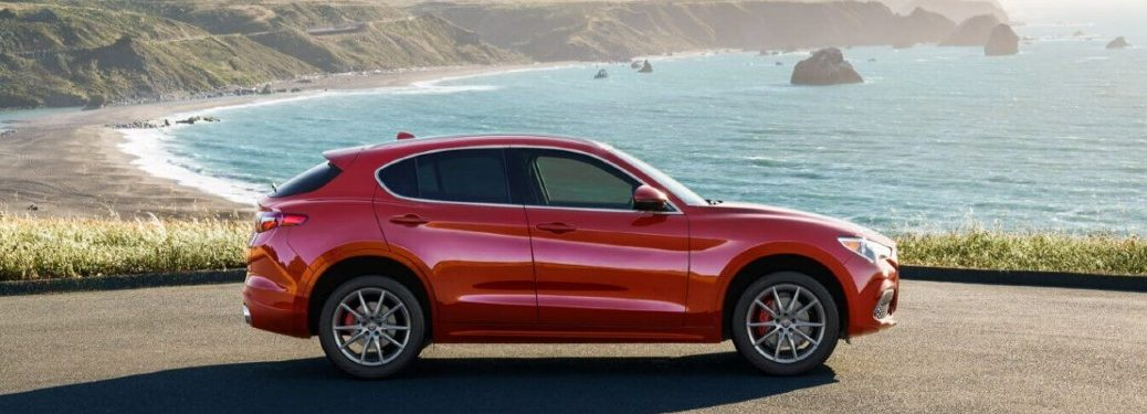 2020 Alfa Romeo Stelvio side profile