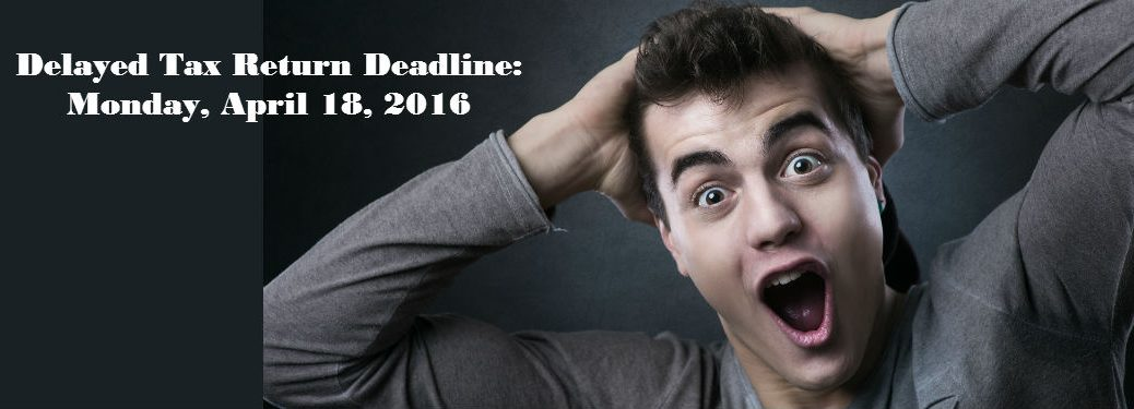 Filing Due Date for 2015 Taxes Changed
