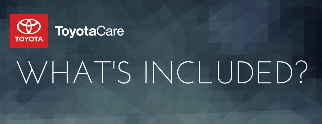 what's included in ToyotaCare
