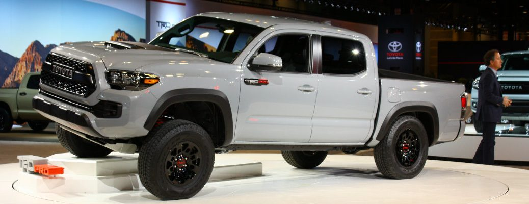 2017 Toyota Tacoma Trd Pro Pictures And Performance Specs