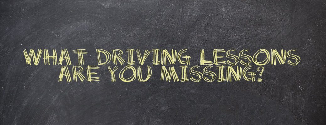 things you didn't learn in driver's education class