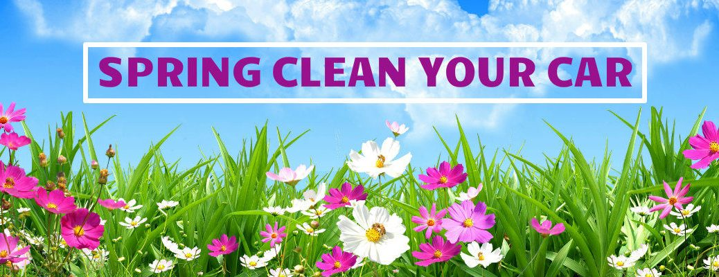 steps to spring clean your car