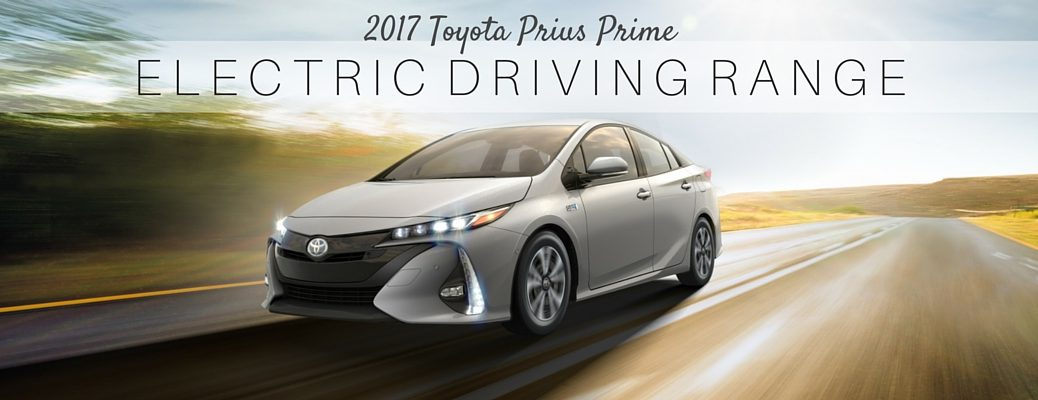 what is the electric range of 2017 Toyota Prius Prime