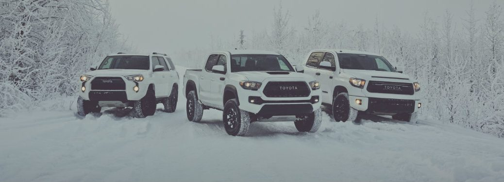 Top Five Images of the 2017 Toyota Tacoma TRD Pro