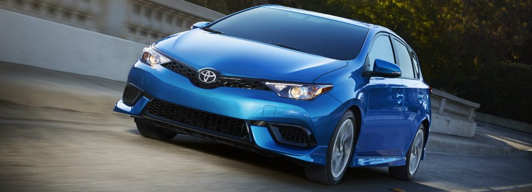 2017 Toyota Corolla iM added performance features