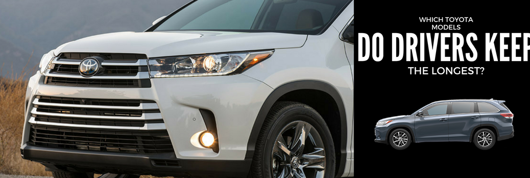 Which Toyota Models Do Drivers Keep the Longest?