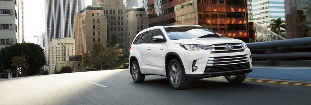 2017 Toyota Highlander Color Options