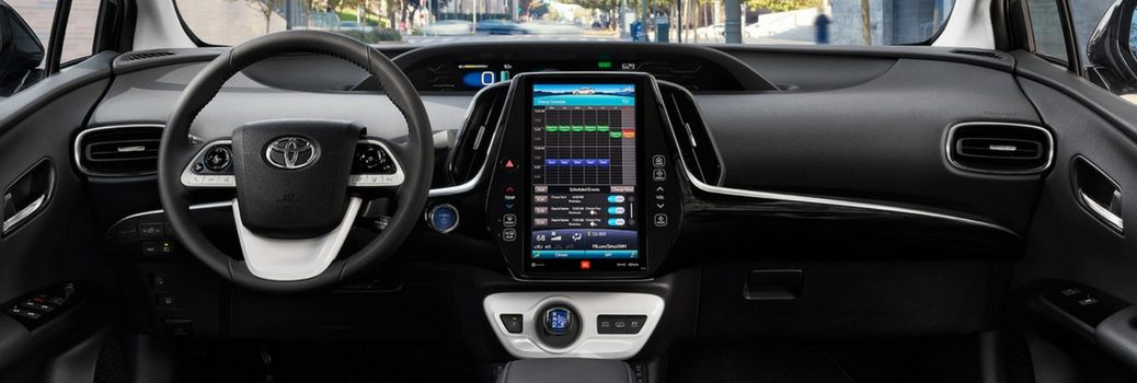 What Kind of Infotainment Does the 2017 Prius Prime Use?