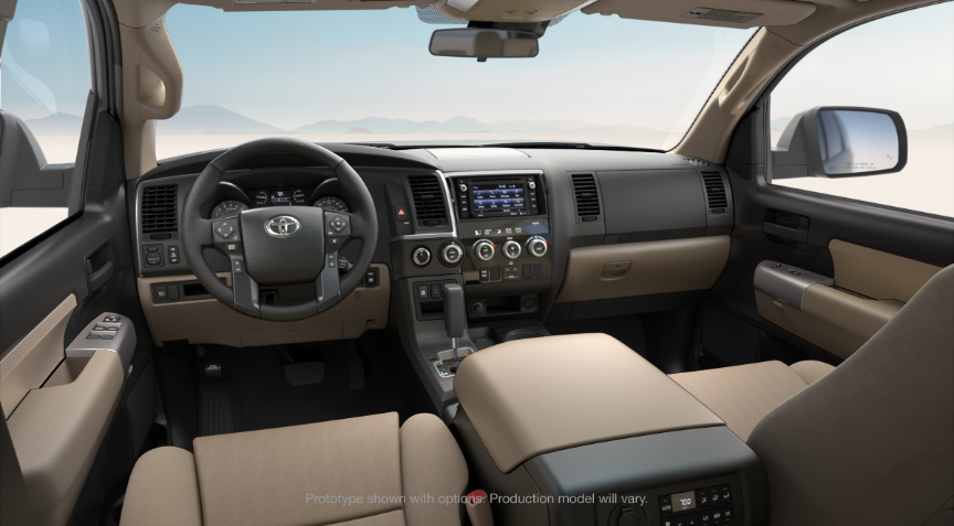 2018 Toyota Sequoia Interior Trim Choices