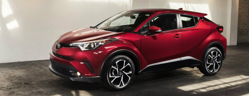 2018 Toyota CH-R available exterior paint color options