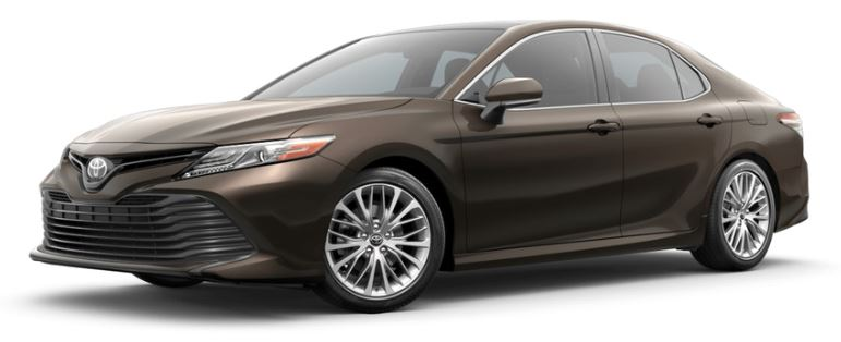 2019 Toyota Camry in Brownstone