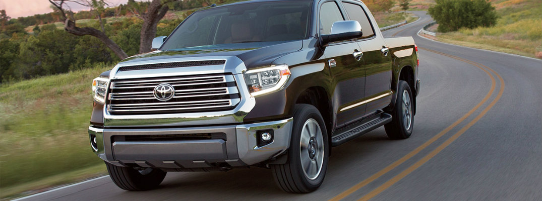 What are the power ratings for the 2019 Toyota Tundra?