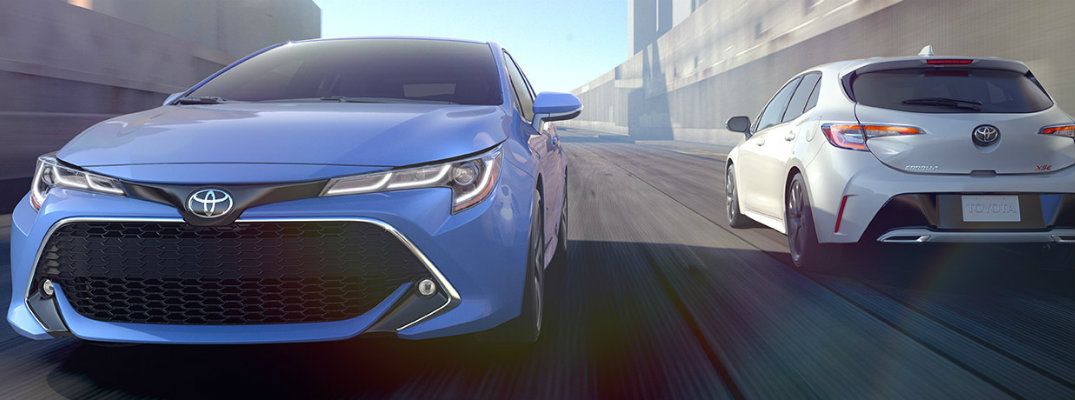 Is the 2019 Toyota Corolla Hatchback an efficient vehicle?