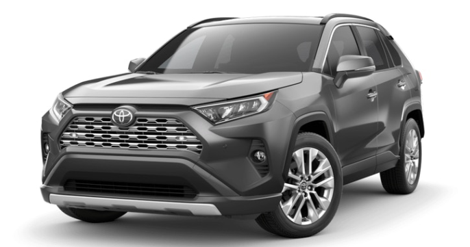 2019 Toyota RAV4 in Magnetic Gray Metallic