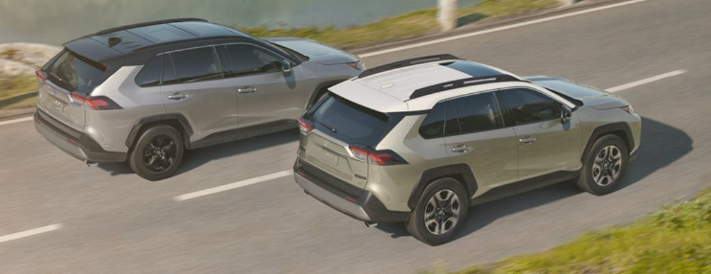 2019 Toyota Rav4 Available Exterior Paint Color Options
