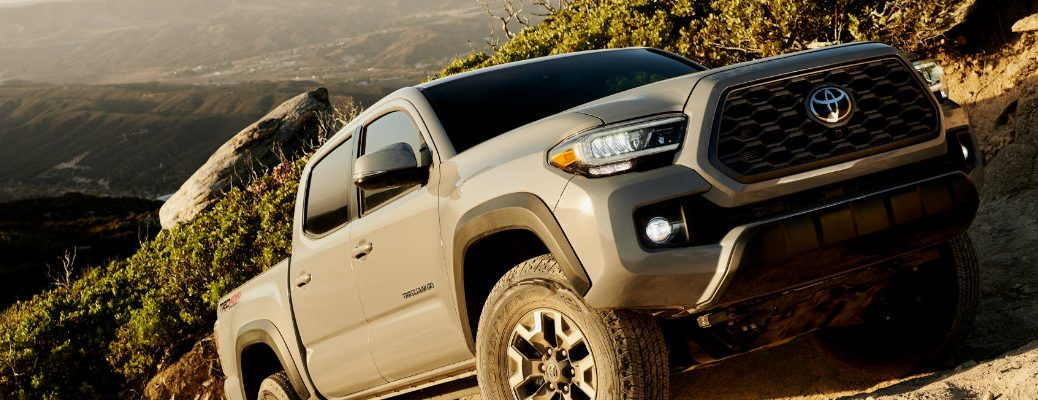 2020 Toyota Tacoma going off road
