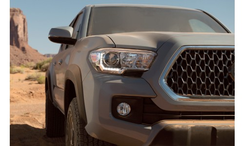 2019 Toyota Tacoma on an off-road trail