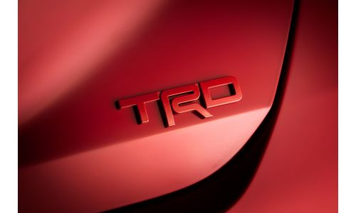2020 Toyota Camry TRD badge