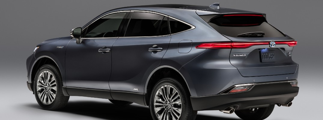 What is the new 2021 Toyota Venza?