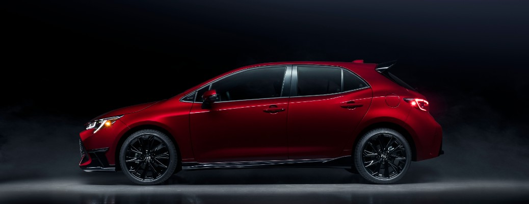red Hatchback Special Edition sideview