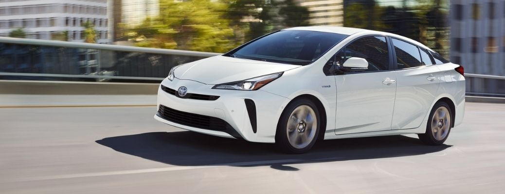 2021 Toyota Prius driving side view