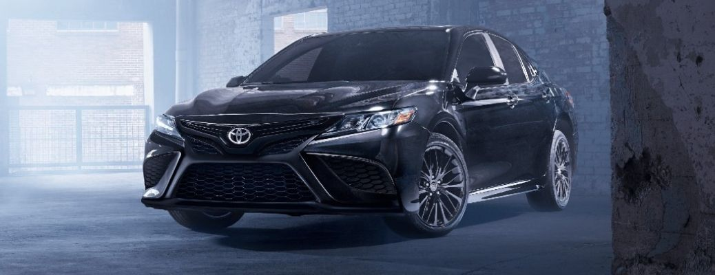 2021 Toyota Camry parked front view