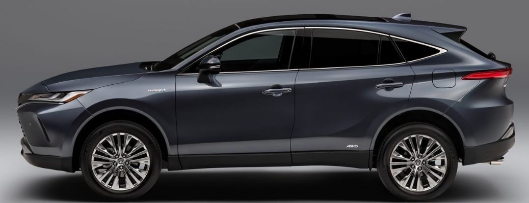 2021 Toyota Venza side view