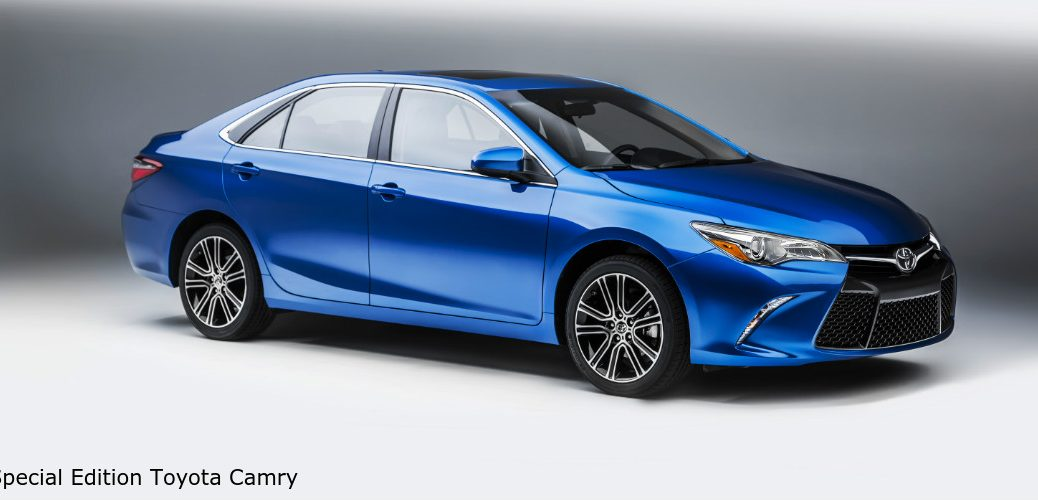 special edition models of the Camry and Corolla