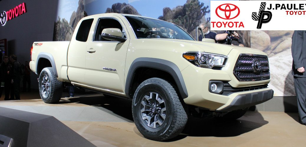 new features for the 2016 Toyota Tacoma