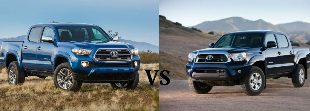 Differences Between the 2016 Toyota Tacoma and 2015 Toyota Tacoma at J. Pauley Toyota-Fort Smith AR-New Toyota-Toyota Dealer-Toyota Model Comparisons