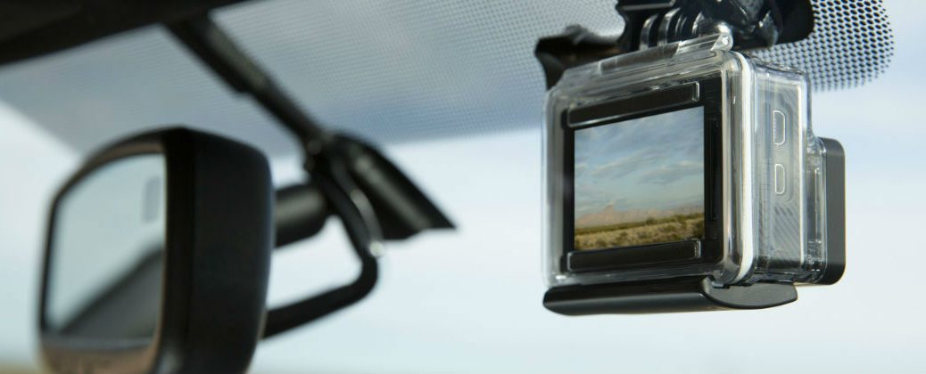 Built-In GoPro Mount Standard in 2016 Toyota Tacoma at J. Pauley Toyota-Fort Smith AR-New Toyota Dealer-Toyota Technology