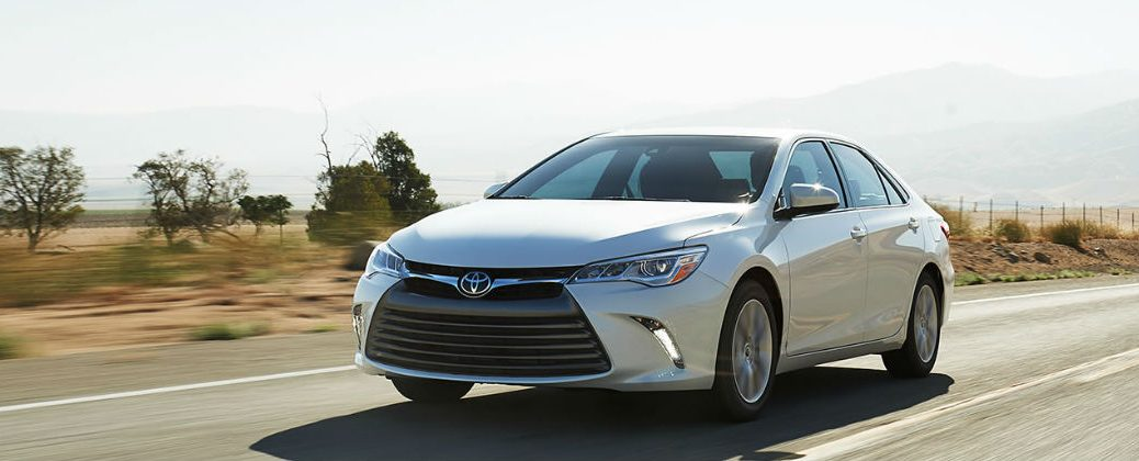 Will the Future Toyota Camry Get a Turbocharger? at J. Pauley Toyota-New Toyota Dealer-Fort Smith AR-Toyota Technology-2015 Toyota Camry White Exterior