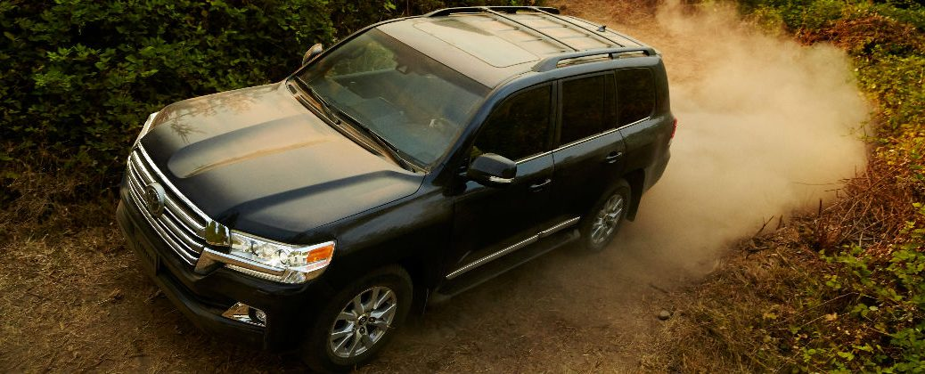 2016 Toyota Land Cruiser Release Date and Design at J. Pauley Toyota-New Toyota Dealer-Fort Smith AR-Black 2016 Toyota Land Cruiser Exterior on Trail
