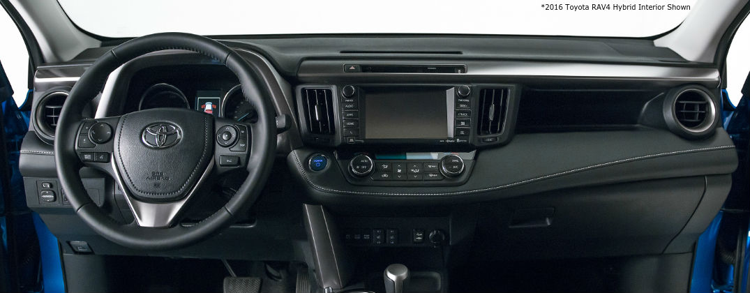2016 Toyota Rav4 Se Interior Features